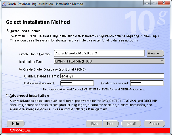 Oracle 10g Installation Guide on Windows 7 | IT Training and