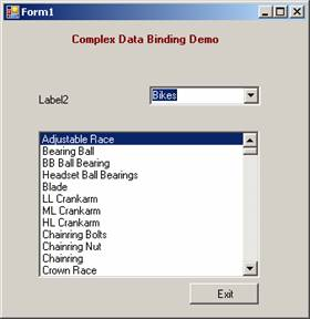 NET Complex Data Binding   IT Training and Consulting – Exforsys