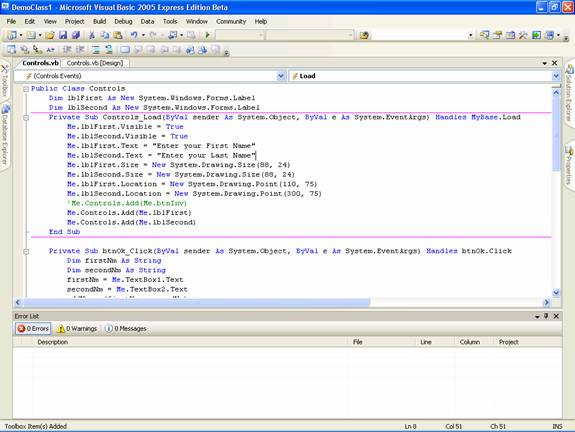 Setting and Adding Properties to Windows Form | IT Training and