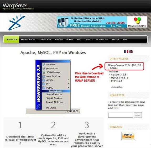 WAMP Server   IT Training and Consulting – Exforsys
